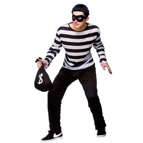 Burglar Fancy Dress (Wicked EM-3190)